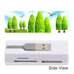 Landscape Nature Background Memory Card Reader (stick)