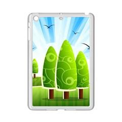 Landscape Nature Background Ipad Mini 2 Enamel Coated Cases