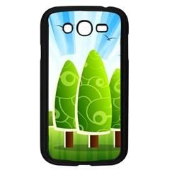 Landscape Nature Background Samsung Galaxy Grand Duos I9082 Case (black)