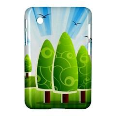 Landscape Nature Background Samsung Galaxy Tab 2 (7 ) P3100 Hardshell Case