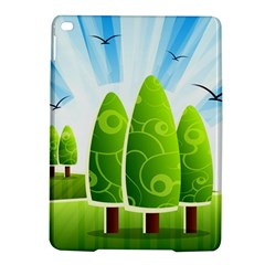 Landscape Nature Background Ipad Air 2 Hardshell Cases