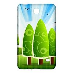 Landscape Nature Background Samsung Galaxy Tab 4 (8 ) Hardshell Case