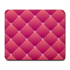 Pink Background Geometric Design Large Mousepads