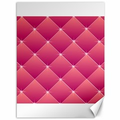 Pink Background Geometric Design Canvas 36  X 48