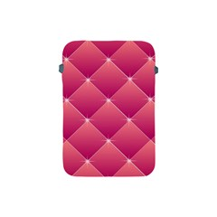 Pink Background Geometric Design Apple Ipad Mini Protective Soft Cases
