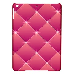 Pink Background Geometric Design Ipad Air Hardshell Cases
