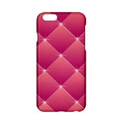 Pink Background Geometric Design Apple Iphone 6/6s Hardshell Case