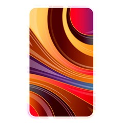 Abstract Colorful Background Wavy Memory Card Reader