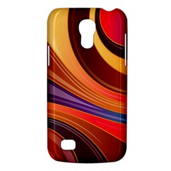 Abstract Colorful Background Wavy Galaxy S4 Mini