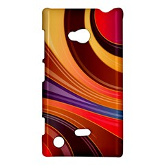 Abstract Colorful Background Wavy Nokia Lumia 720