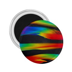 Colorful Background 2 25  Magnets