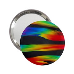 Colorful Background 2 25  Handbag Mirrors