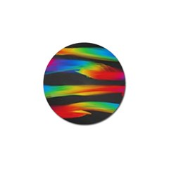 Colorful Background Golf Ball Marker (10 Pack)