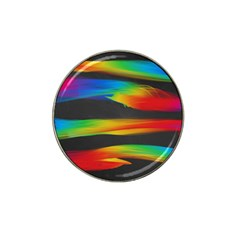 Colorful Background Hat Clip Ball Marker