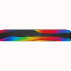 Colorful Background Small Bar Mats