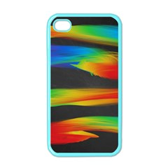 Colorful Background Apple Iphone 4 Case (color)