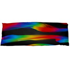 Colorful Background Body Pillow Case Dakimakura (two Sides)