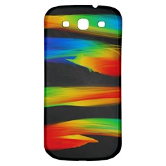 Colorful Background Samsung Galaxy S3 S Iii Classic Hardshell Back Case