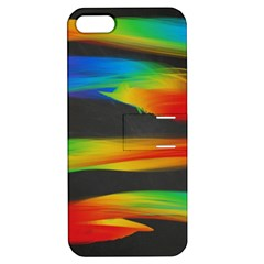 Colorful Background Apple Iphone 5 Hardshell Case With Stand