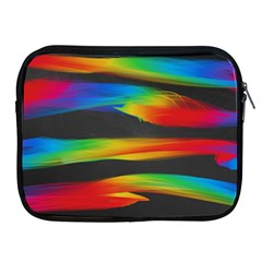 Colorful Background Apple Ipad 2/3/4 Zipper Cases