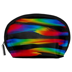 Colorful Background Accessory Pouches (large)