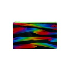 Colorful Background Cosmetic Bag (xs)