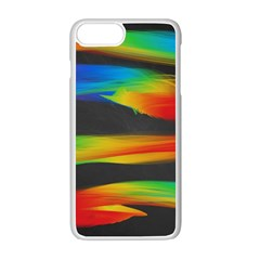 Colorful Background Apple Iphone 7 Plus Seamless Case (white)