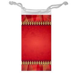 Background Red Abstract Jewelry Bag