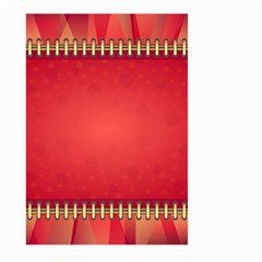 Background Red Abstract Large Garden Flag (two Sides)