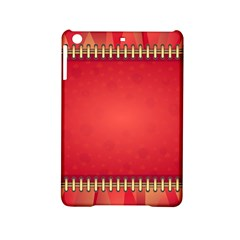 Background Red Abstract Ipad Mini 2 Hardshell Cases