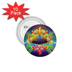 Badge Abstract Abstract Design 1 75  Buttons (10 Pack)