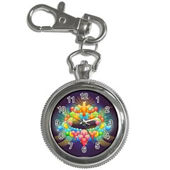 Badge Abstract Abstract Design Key Chain Watches