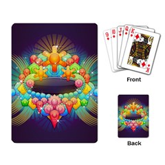 Badge Abstract Abstract Design Playing Card
