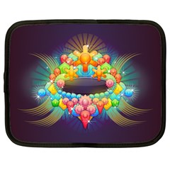 Badge Abstract Abstract Design Netbook Case (xl)