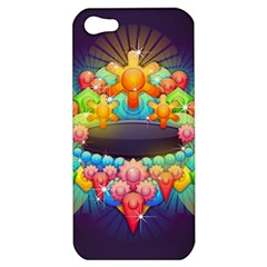 Badge Abstract Abstract Design Apple Iphone 5 Hardshell Case