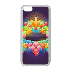 Badge Abstract Abstract Design Apple Iphone 5c Seamless Case (white)