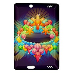 Badge Abstract Abstract Design Amazon Kindle Fire Hd (2013) Hardshell Case