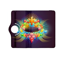 Badge Abstract Abstract Design Kindle Fire Hdx 8 9  Flip 360 Case