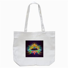Badge Abstract Abstract Design Tote Bag (white)