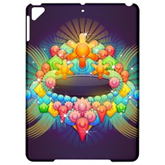 Badge Abstract Abstract Design Apple Ipad Pro 9 7   Hardshell Case