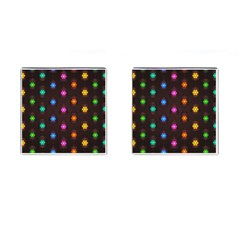 Lanterns Background Lamps Light Cufflinks (square)
