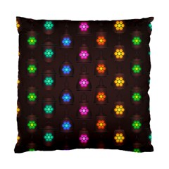 Lanterns Background Lamps Light Standard Cushion Case (two Sides)