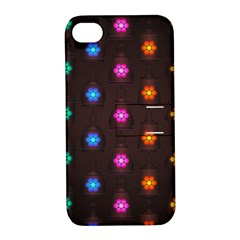 Lanterns Background Lamps Light Apple Iphone 4/4s Hardshell Case With Stand