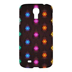 Lanterns Background Lamps Light Samsung Galaxy S4 I9500/i9505 Hardshell Case