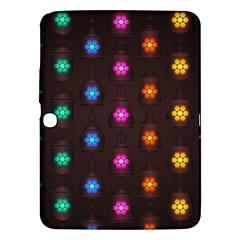Lanterns Background Lamps Light Samsung Galaxy Tab 3 (10 1 ) P5200 Hardshell Case