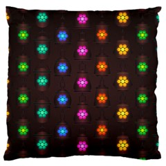 Lanterns Background Lamps Light Standard Flano Cushion Case (two Sides)