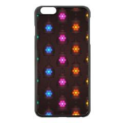 Lanterns Background Lamps Light Apple Iphone 6 Plus/6s Plus Black Enamel Case