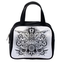 Forest Patrol Tribal Abstract Classic Handbags (one Side)