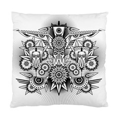 Forest Patrol Tribal Abstract Standard Cushion Case (two Sides)