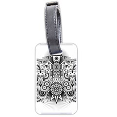 Forest Patrol Tribal Abstract Luggage Tags (one Side)